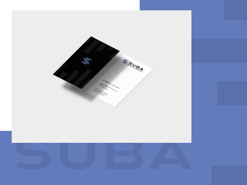 Suba business cards businesscard business money finances finance logo design mark branding logo brand mexico design