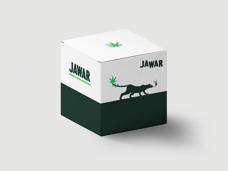 JAWAR old tale typogaphy cannabis weed gods legend folkore mexican art mexican packaging package logo design branding logo brand mexico design