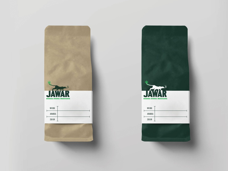JAWAR mindful health natural myth legend mexican tradition folklore mexican animal cannabis branding cannabis weed logo design branding logo brand mexico design