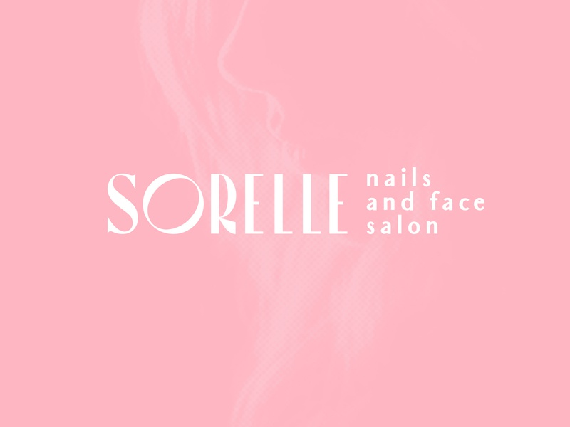 SORELLE: Nails and Face Salon hair nails beauty salon beauty typography mark branding logo brand mexico design