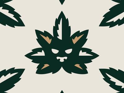 Good Herb mexican mayans aztecs aztec myth legend folktale cbd cannabis health animation logo design mark branding logo brand mexico design