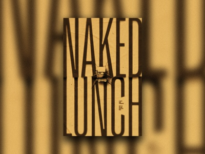 Naked Lunch 🐞🐜🦟🦗🕷🦂 posters halloween spooky movies insects insect bugs david cronenberg horror movie body horror naked lunch art director art direction film poster film movie poster movie