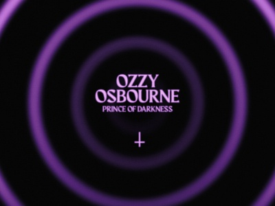 Ozzy Osbourne / Prince of Darkness heavy metal rock and roll bat darkness illustration posters poster design poster metal music ozzy osbourne ozzy