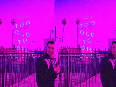 Too Old to Die Young pink neon drive refn los angeles la art direction poster designer poster design posters poster