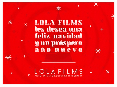 LOLA Films X-mas Card