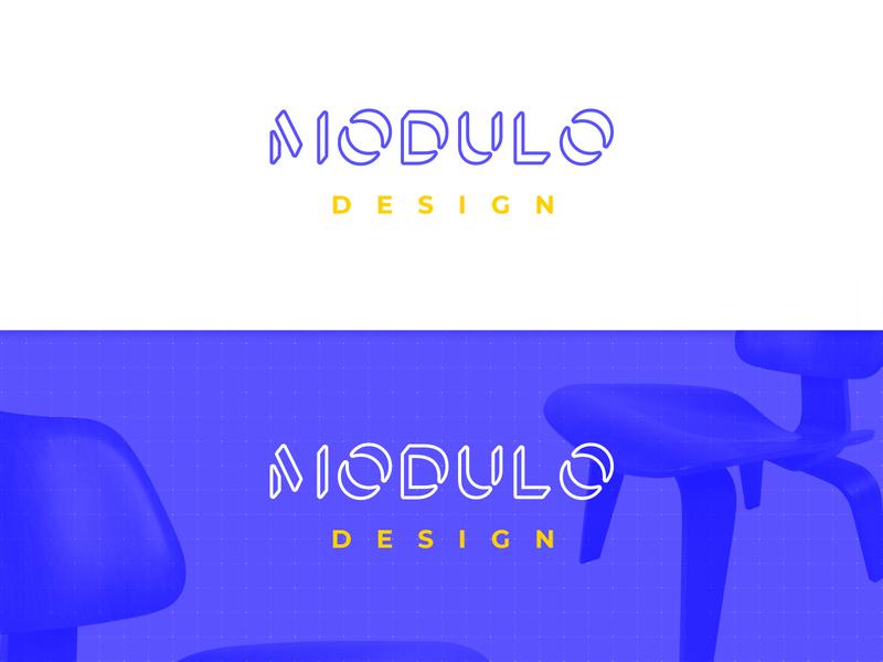 MODULO Design mark chairs color brand interior designs interior designer interior design architecture furniture vector typography branding mexico type logo design