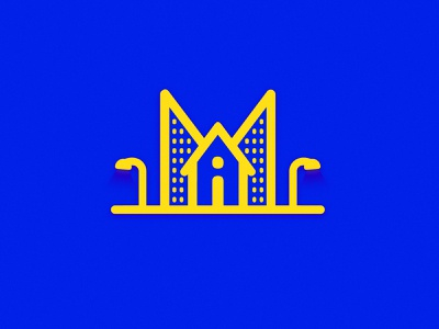 iMMOBILIEN - AG architecture typography buy houses house color real state business monogram logo monogram branding design mark illustration branding logo brand mexico design