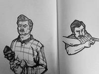 Swanson sketches