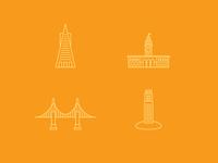 SF Line Icons