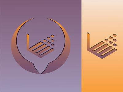 Logo Banding. businesscard letterhead flyer typography vector graphic design branding 3d logo illustration design