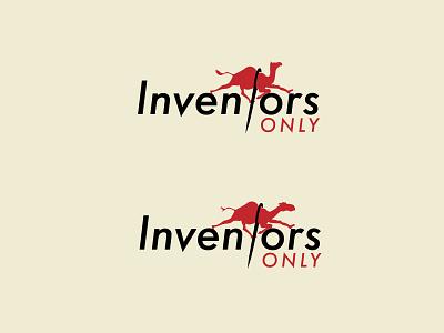 Inventors challenge logo design vector logo graphic design branding illustration design only inventors only inventor