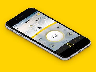 Directed Smart Start dashboard app smart start driving unlock iot cars drive start smart viper directed