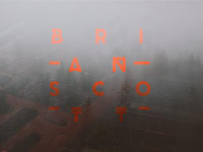 Brian Scott Logo minimal logo logo