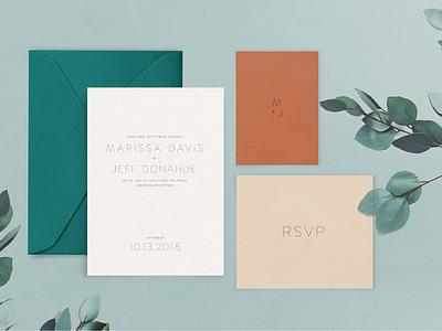 Wedding Invitation simple invitation minimalist minimalist invitation minimal design print design invitation design card wedding card wedding invitation wedding