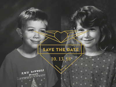 Save the Date wedding love heart save the date savethedate