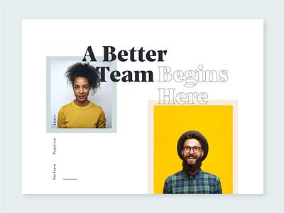 Modern Style Tile headline moodboard modern teamwork team style tile