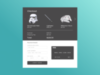 Credit Card Checkout (Daily UI Challenge #2)