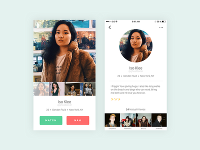 User Profile (Daily UI Challenge #6)