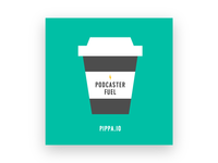 Podcaster Fuel Sticker