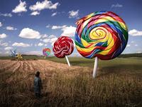 Snake Lollipop