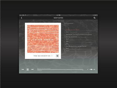 Funk Wav Bounces Vol. 1   Album Cover Redesign calvin harris vinyl records packaging music branding album