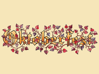 Oktoberfest Leaves