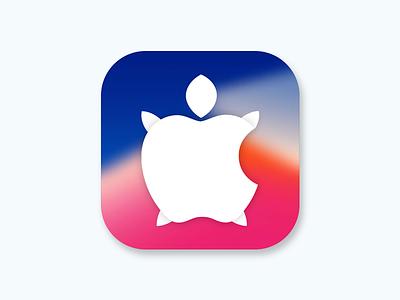 Apple's iPhone slowdown iphone 6 iphone 7 iphone x logo ui design app icon tortoise slowdown iphone apple
