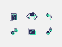 Free Mobile app mini icons