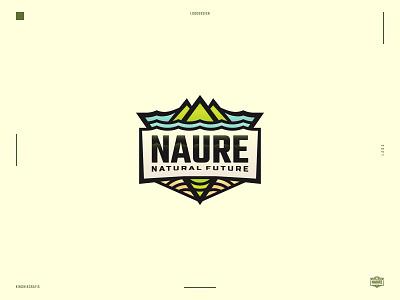 Naure - Logo emblem inspiration mountain badges emblem design vector graphic design branding logo
