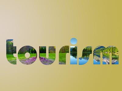 TOURISM LOGO graphic design minimalist logo flat logo logo design