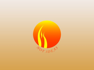 HOT IDEAS LOGO branding logo graphic design motion graphics 3d animation ui