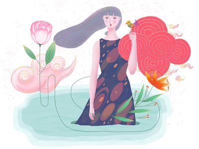 中国姑娘 Chinese girl