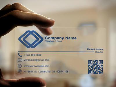 Plastic Business Card plastic business plastic plastic business card mockup3 logo graphic design illustration design branding