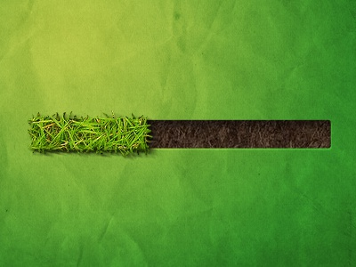 Pro-grass Bar loading progress bar progress ui interface grass green photoshop effect effects