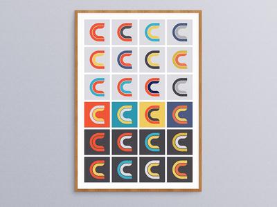 Logo Poster branding print poster logo