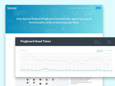 Bonsai's Pingboard Case Study