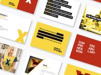 Impact Dyslexia Brand Elements