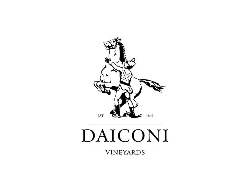 Daiconi winery wine soldier vineyard horse