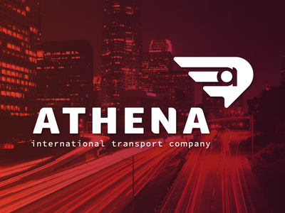 Athena Transport owlwing wing signage highway logistics transport