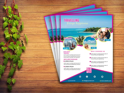 Travel Flyer Design template psd promotion promote offer discount holiday travel agent agent agency travel agency marketing design advertisement advert travel flyer traveling travel tourism tour