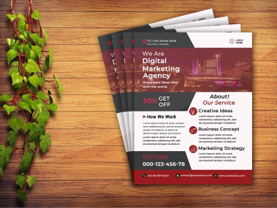 Business Flyer design business agreement company psd fresh clean modern corporate flyer digital marketer digital corporate print media print flyer design business flyer flyer marketing advertisement advert