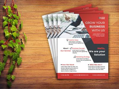 Business Flyer Design template business contract contract company corporate flyer design corporate flyer eye-catching clean agent agency design psd advertisement advert marketing corporate modern business flyer design flyer design flyer