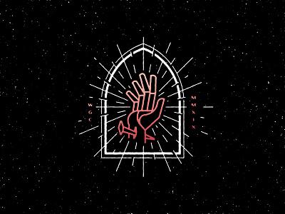 Greater christian vector design illustration nails bible light shine thorns church faith portal easter jesus