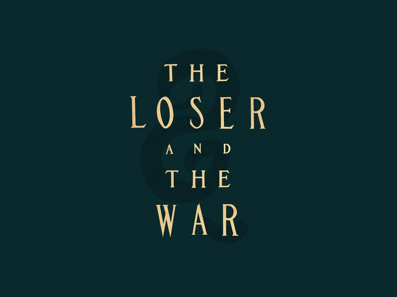 1d7659d29 The Loser and the War - Type app procreate loser theater film noir movie  title vintage