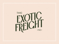 Exotic Freight - Type