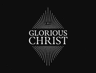 The Glorious Christ Album grace sovereign lineart art the glorious grunge line rays christian christ gospel music album