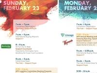 AFFI-CON 2014 Schedule Sign