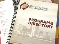 AFFI-CON 2016 Program and Directory