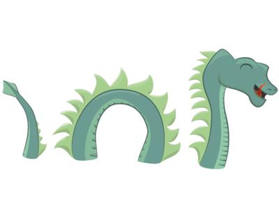 Tartan Nessie 3