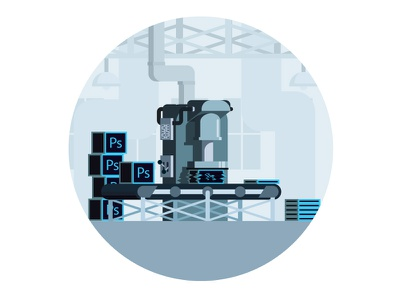PS Crusher avocode report design web factory illustrator photoshop